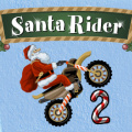 As Santa, use your dirt bike, or ATV, to collect the Christmas presents!