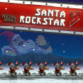 A game similar to Guitar Hero where you play Christmas songs Metal style
