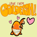 Try and save as many goldfish as you can! Lots of fun.