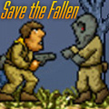 Save the fallen soldiers & bring them back to the medic base camp.