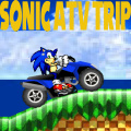 Help Sonic grab his ATV and have a ride of a lifetime.