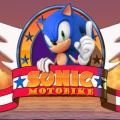 Help Sonic ride his motobike to the end of all levels.