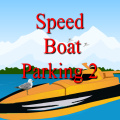 Drive the speed boat to the parking space as quickly as you can.