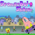Help Patrick ride on his cool, new skateboard.