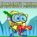 Help SpongeBob collect the food, then get the key to complete a level!