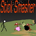 Smash the waves of stick figures!
