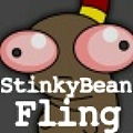 Wind up and toss Stinky Bean as far as you can.
