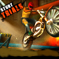 Hop on your bike and start performing the stunts!