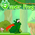 Help the frog collect flies & jump over obstacles to reach the exit.