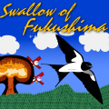 Take the role of swallow trying to escape the nuclear fallout in Japan.