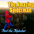 Spiderman is back in town. Find the hidden alphabet before he leaves.