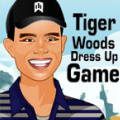 Dressup Tiger Woods in various sporty outfits.