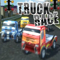 Racing takes on a whole new meaning in this 3D truck racing game.
