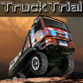 Drive a big trial truck over mountains and other obstacles.