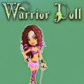 Give the warrior doll the perfect look for the battle.