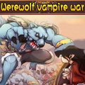 Werewolves & vampires fight for the same, limited, living environment.