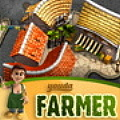 Run a farm, harvest the items when ready & deliver them to the town.